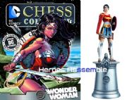 DC Chess Figurine Collection #88 Wonder Woman Divine Armor Forever Evil Eaglemoss